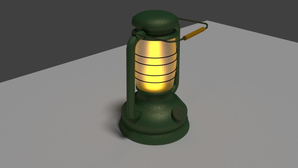 Old lamp preview image 1