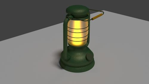 Old lamp preview image