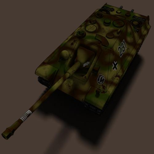 German Assault Gun Jagdpanther preview image