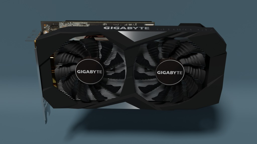 Gigabyte Geforce GTX 1660 TI Gaming OC 6G ( computer part ) preview image 1