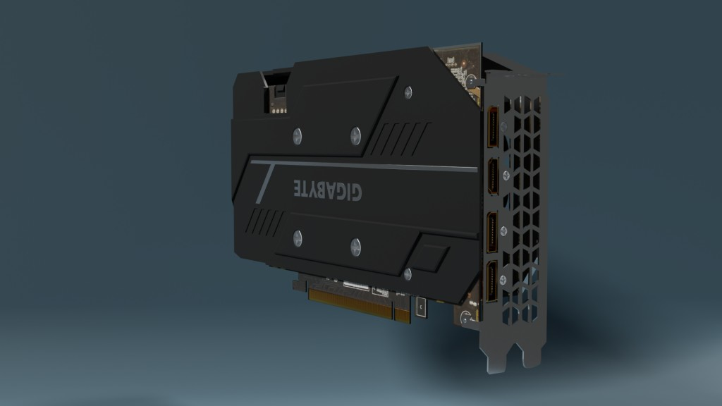 Gigabyte Geforce GTX 1660 TI Gaming OC 6G ( computer part ) preview image 4