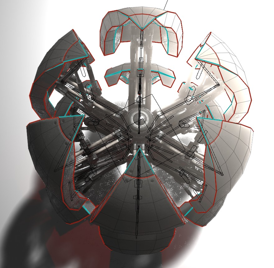Sphere-Bot with hydraulics 2.8 Version preview image 2