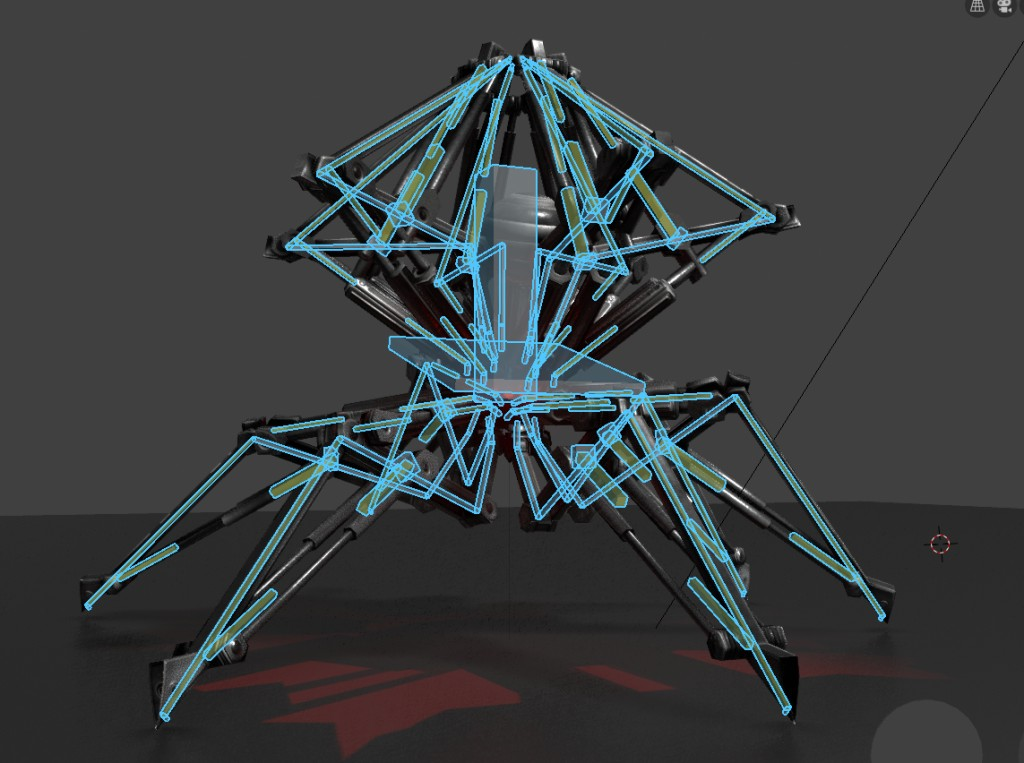 Sphere-Bot with hydraulics 2.8 Version preview image 7