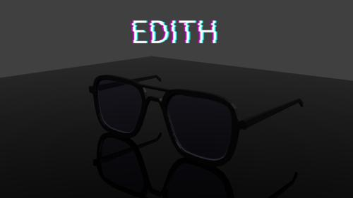 Marvel EDITH Glasses Tony/Peter's EDITH glasses preview image
