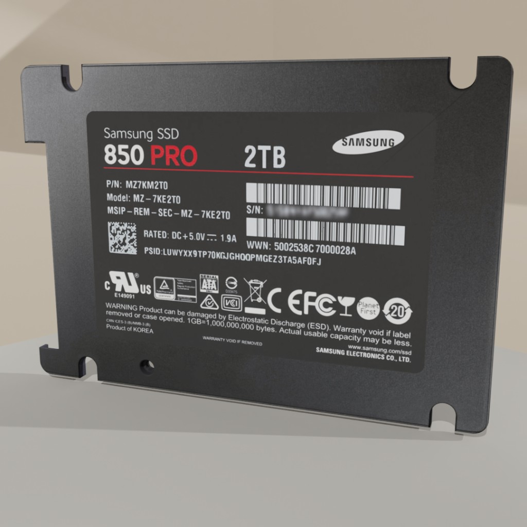 SSD Samsung EVO Pro 2TB ( computer part ) preview image 6