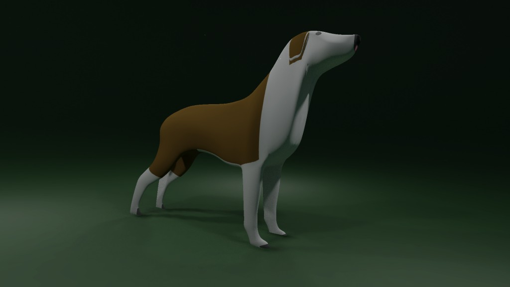 Dog with bake textures preview image 2