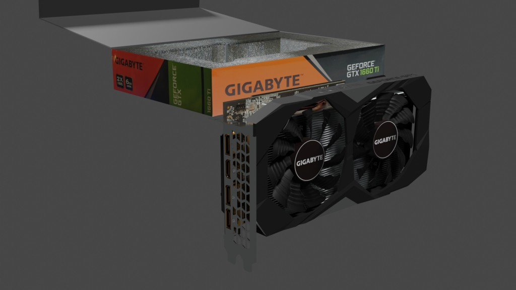 Gigabyte Geforce GTX 1660 TI Gaming OC 6G ( computer part ) preview image 8