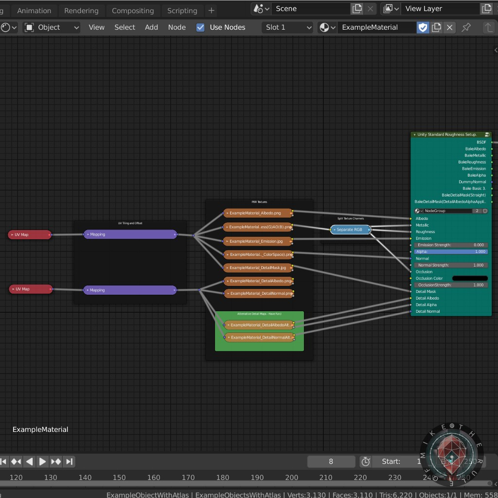 EASY Blender to Unity workflow start file. preview image 6