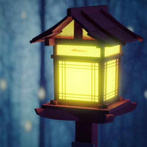 Japanese Wood Lamp preview image