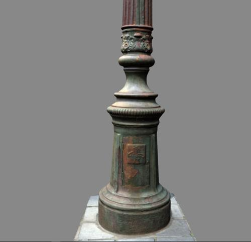 Street lamp post preview image