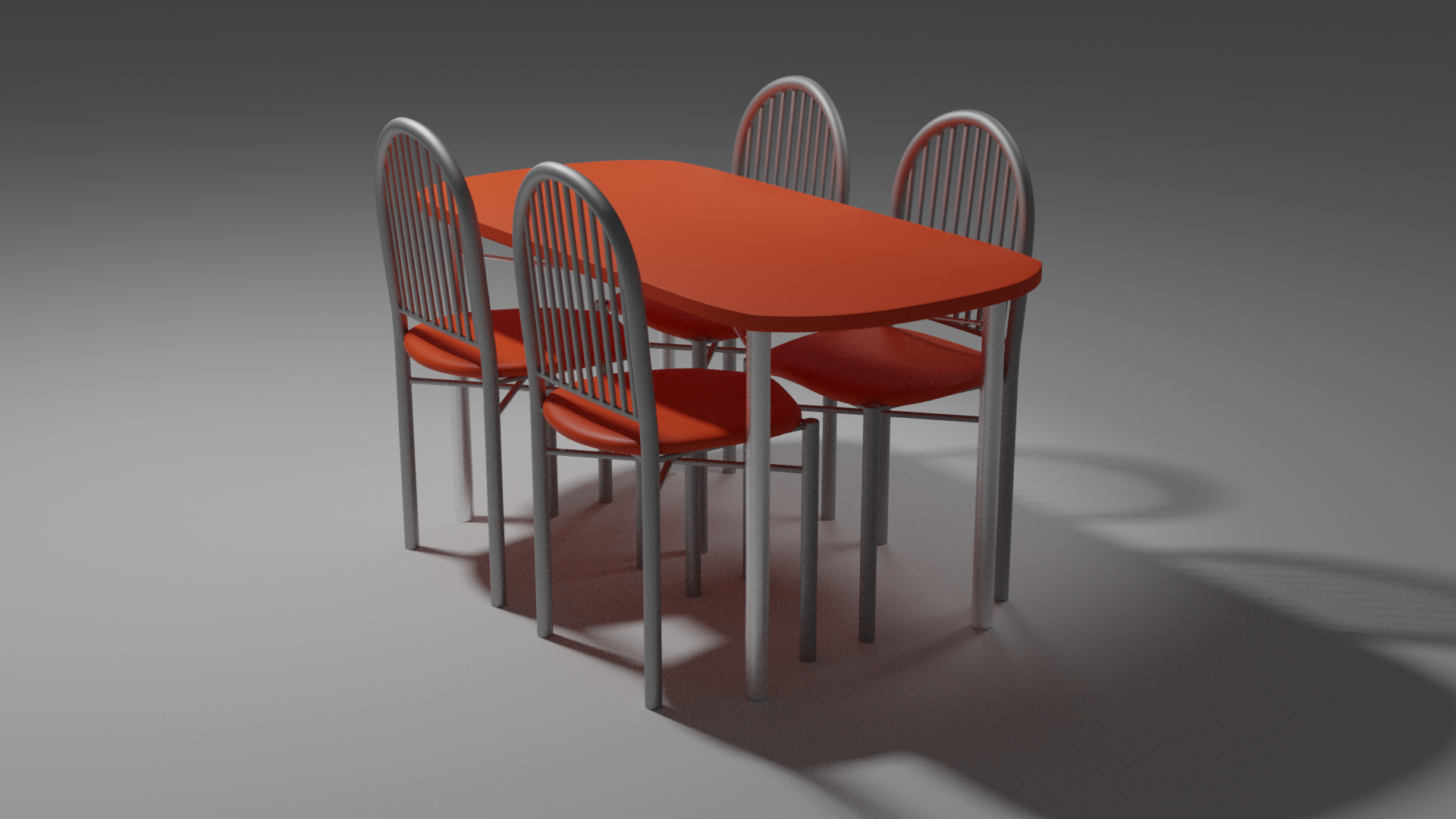 Dining table and chairs preview image 1