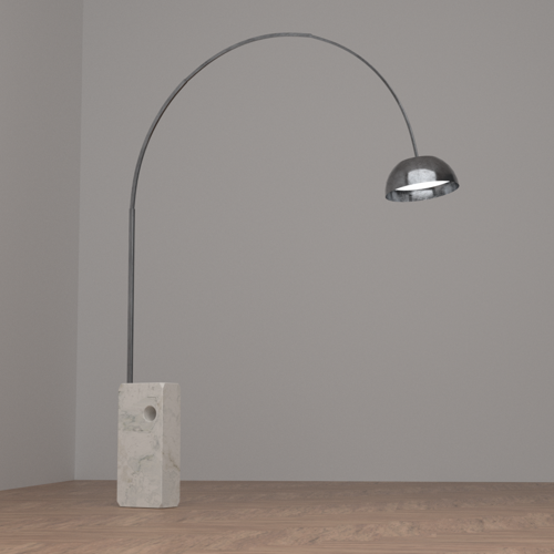 """Arco"" floor lamp preview image"