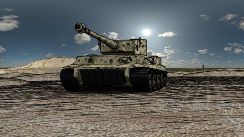 Heavy German Tiger Tank preview image