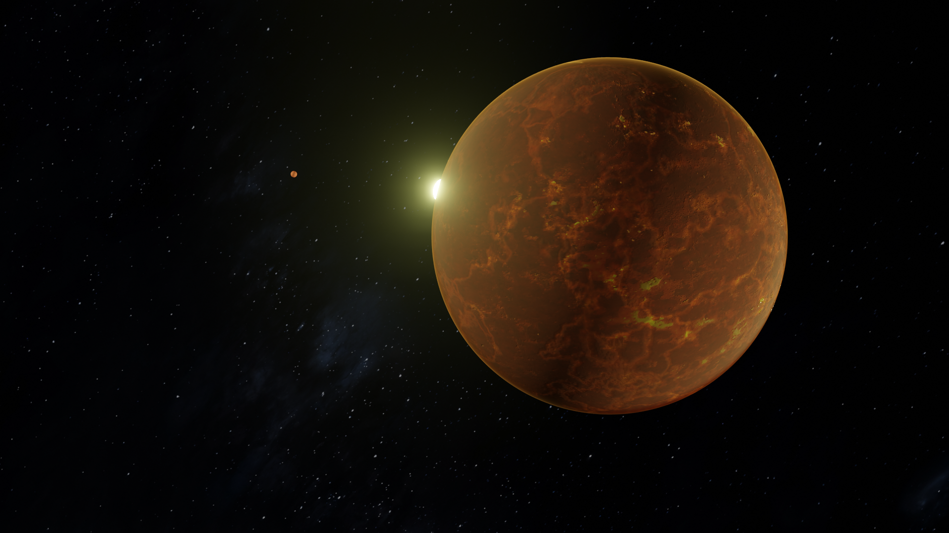 Red Rusty Planet preview image 1