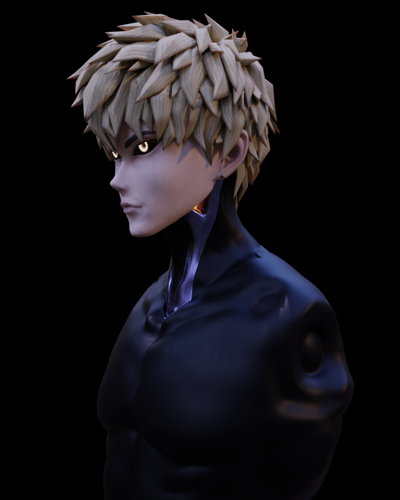 Genos bust preview image