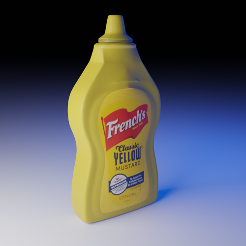 French's Mustard Bottle preview image