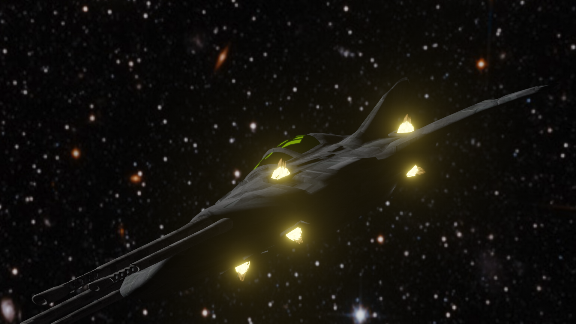 Small Sci-Fi Fighter preview image 3