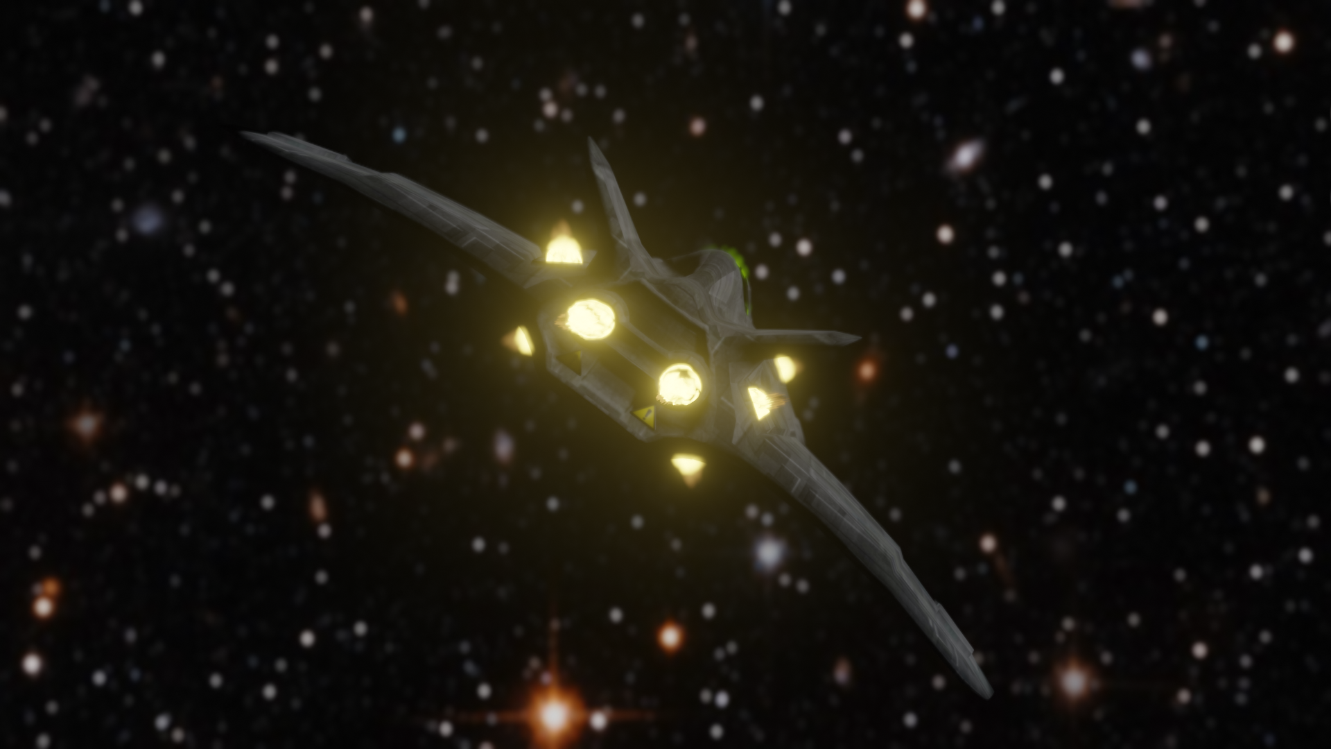 Small Sci-Fi Fighter preview image 2