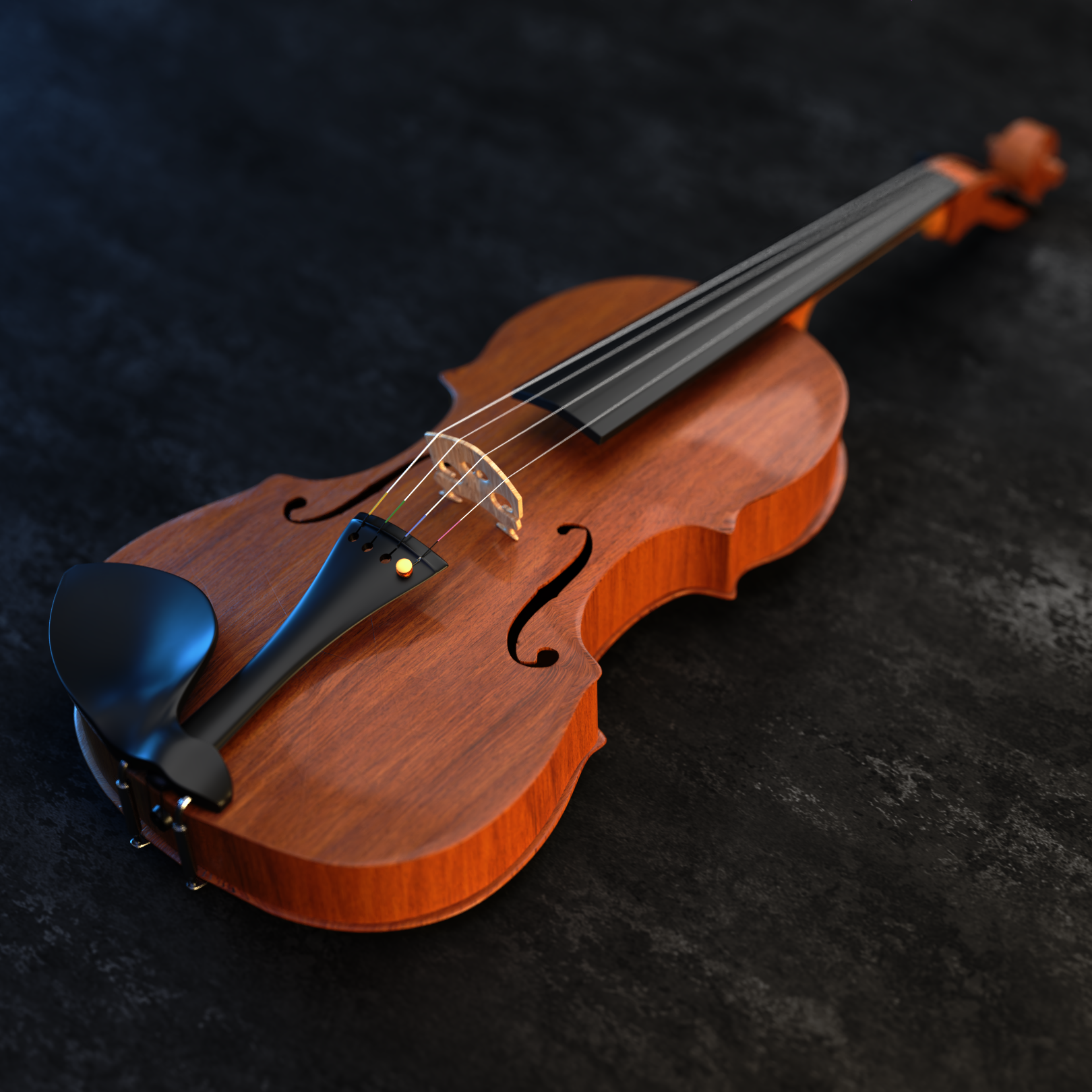 Realistic Violin  preview image 2