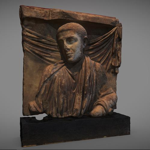 Fragment of sarcophagus bowl preview image