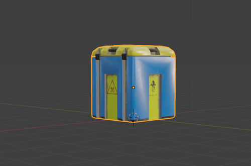 Sci fi hazardous box preview image