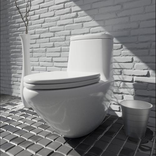 modern toilet preview image