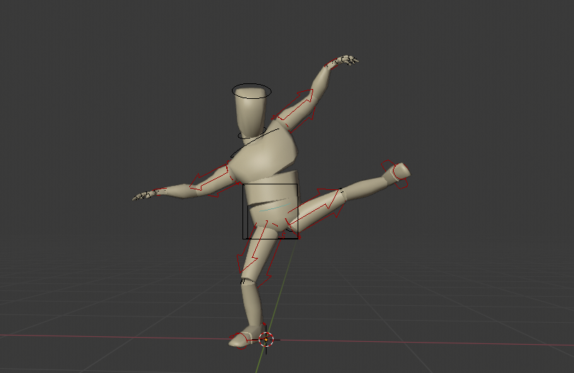Body mannequin preview image 2