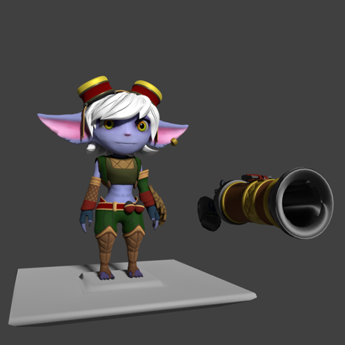 Tristana, The Yordle Gunner [LoL] - Read Desc. preview image