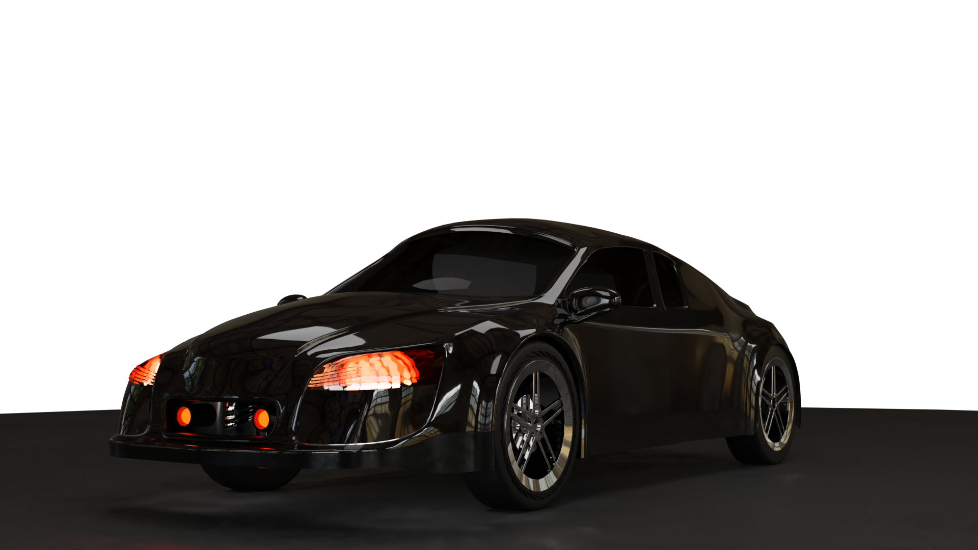 car in blender preview image 1
