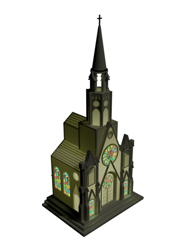 Paramount Raylite Illuminated Musical Cathedral 177MC preview image