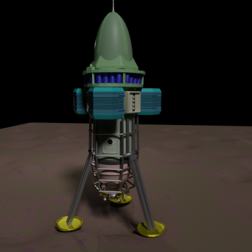 Small Lander preview image