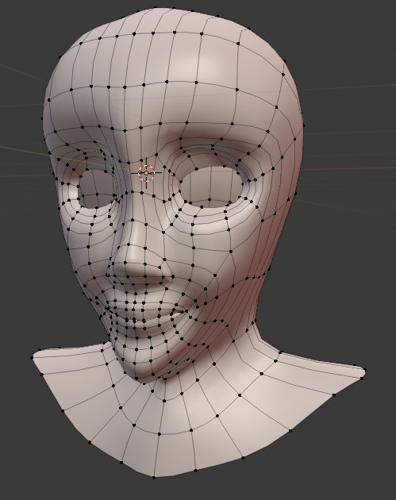Female Head preview image