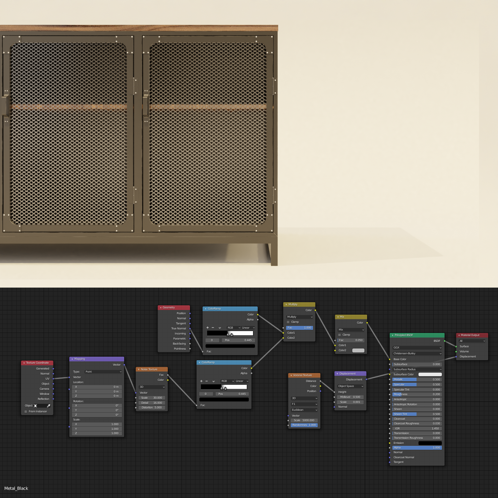 Industrial sideboard preview image 4