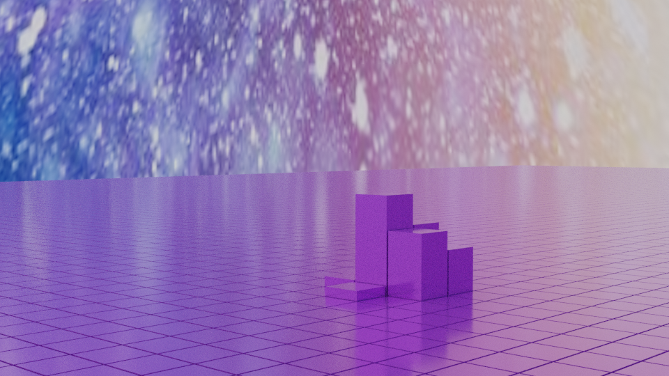 Animated Field of Cubes - Drivers - Python scripted preview image 2