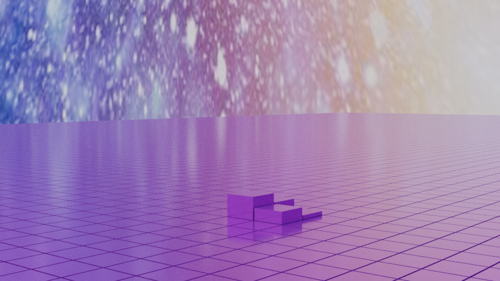 Animated Field of Cubes - Drivers - Python scripted preview image