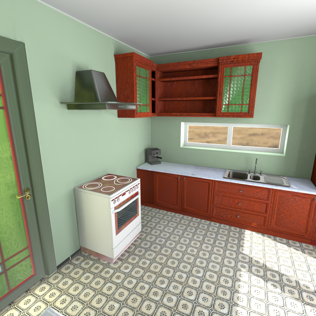Lightmapped kitchen preview image 1