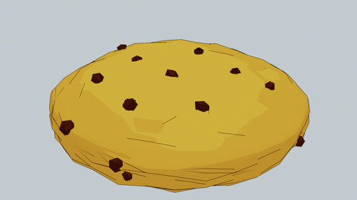 Customizable Cartoon Cookie preview image