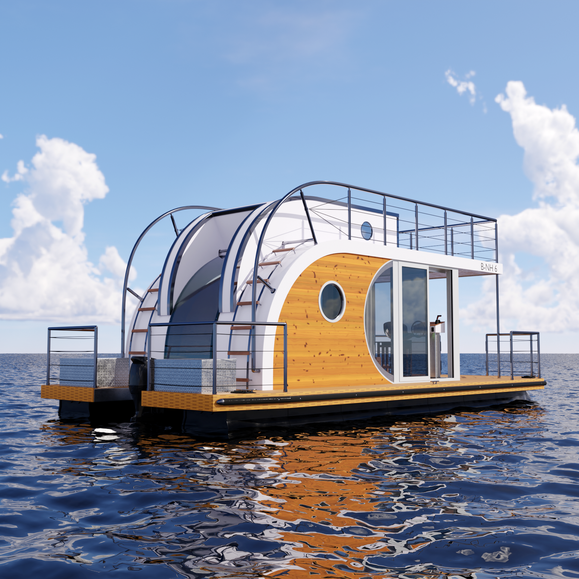 "Houseboat ""Nautilus B-NH 6"" preview image 1"