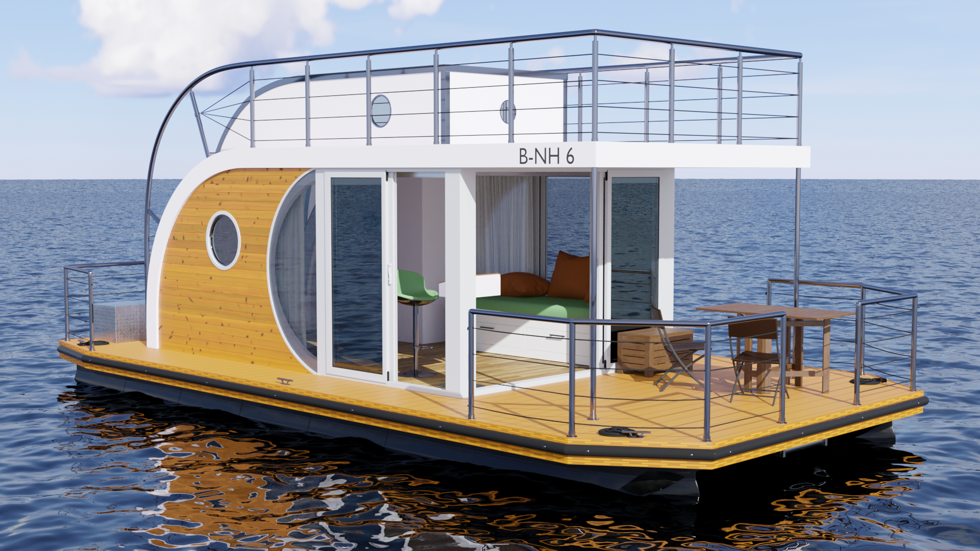"Houseboat ""Nautilus B-NH 6"" preview image 2"