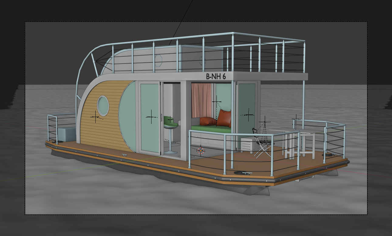 "Houseboat ""Nautilus B-NH 6"" preview image 3"