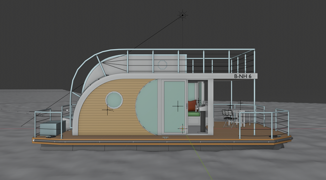"Houseboat ""Nautilus B-NH 6"" preview image 4"