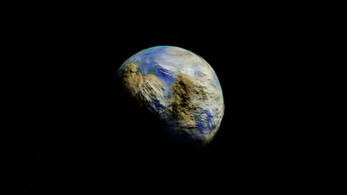 Procedural Planet Shader preview image