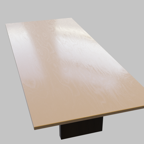 Boardroom Tables Low Poly preview image