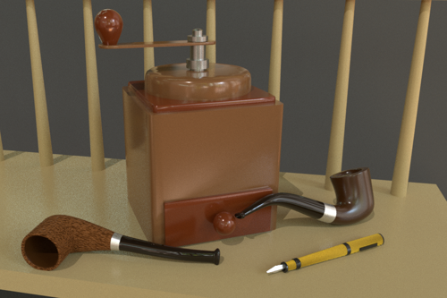 Old Fashioned Household Items preview image