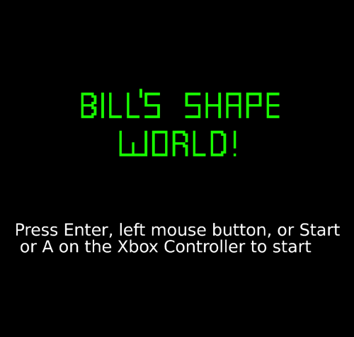 bill's shape world preview image