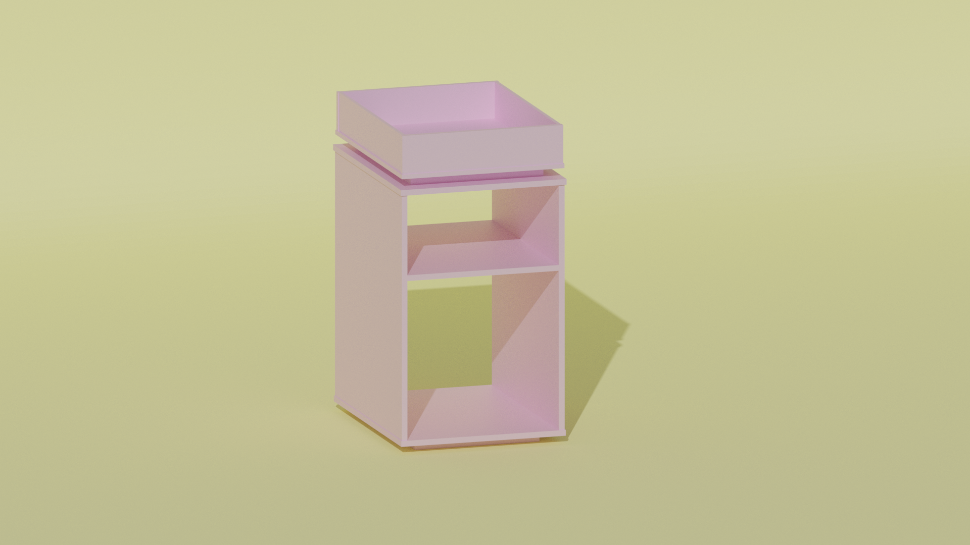 Simple Modern Bedside Table  preview image 1