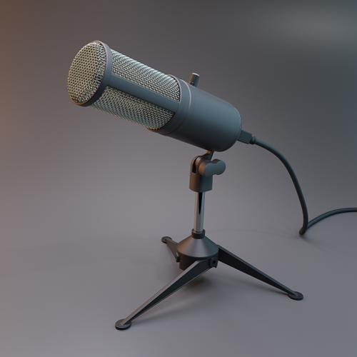 Microphone preview image