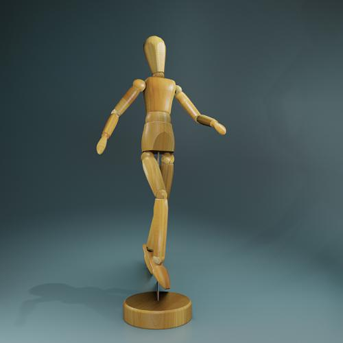 Wooden Manikin preview image