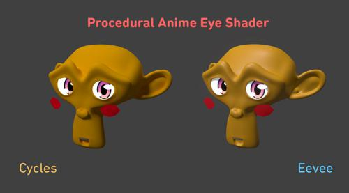 Procedural Anime Eye Shader preview image