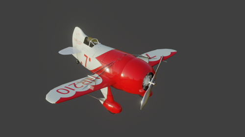 GeeBee R2 Racing Plane airplane preview image